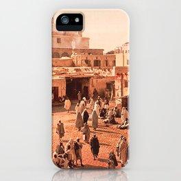 Vintage Babylon photograph iPhone Case