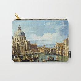 Canaletto Bernardo Bellotto  -  The Entrance To The Grand Canal  Venice Carry-All Pouch