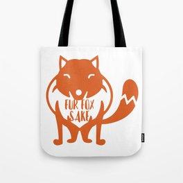 Fur Fox Sake Tote Bag