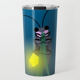 Aglow: big dipper firefly Travel Mug