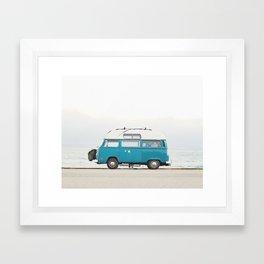 Malibu Roadtrip Framed Art Print