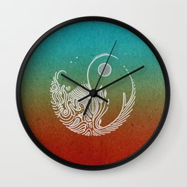 Wandering Days Wall Clock