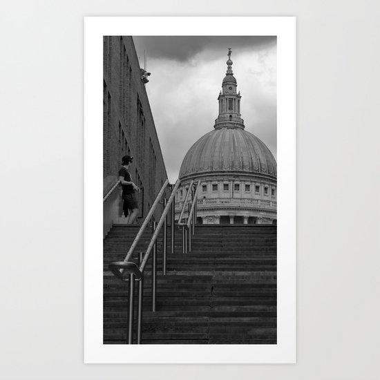 stairway to heaven?.. Art Print