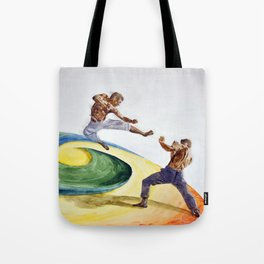 Combat at Whirl's End Tote Bag
