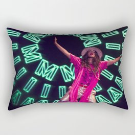 M.I.A. Rectangular Pillow