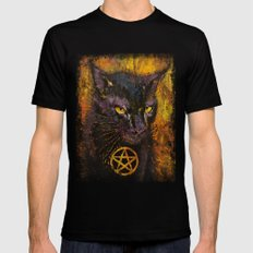 Black Magic Mens Fitted Tee Black MEDIUM