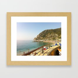 Monterosso al Mare, Cinque Terre, Italy Framed Art Print