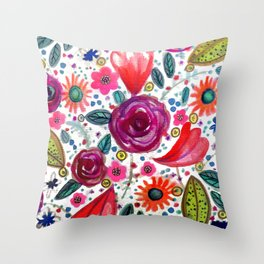 sevilla light Throw Pillow