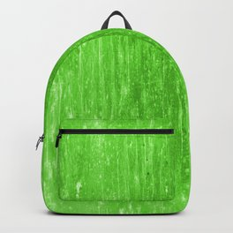bright neon green Backpack