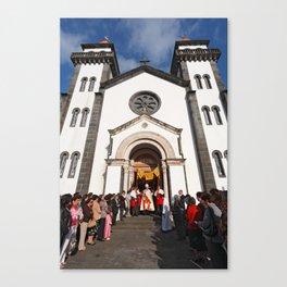 Church in Furnas Canvas Print