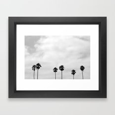 L.A. Palms Framed Art Print
