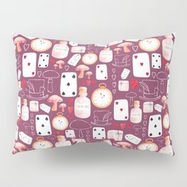 Alice in Wonderland - Purple Madness Pillow Sham