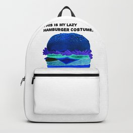 This Is My Lazy Hamburgercostume2 Backpack