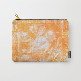 French Twist Orange Carry-All Pouch
