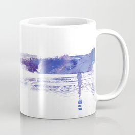 Haystack Rock watercolor Coffee Mug