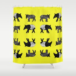 Dance of the Tapirs Shower Curtain