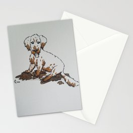 Muddy Puppy, Ruiner of Furniture Stationery Cards