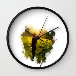 Blurriness Wall Clock