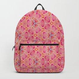 flowers or butterflies - uma releitura Backpack