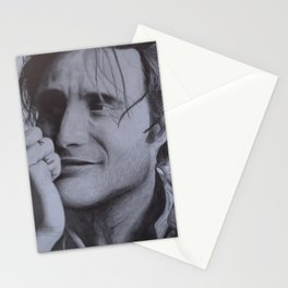 Mads Mikkelsen Stationery Cards