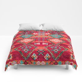 (N18) Traditional Colored Oriental Moroccan Artwork Comforters