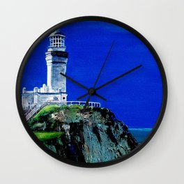 Byron Bay Light House Detail Wall Clock