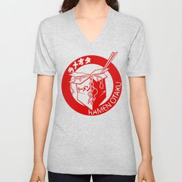 This Is My Ramen Shirt (Large Print for Hoodies) Unisex V-Neck