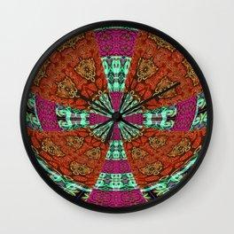 Gothic Power Cross Bold Wall Clock