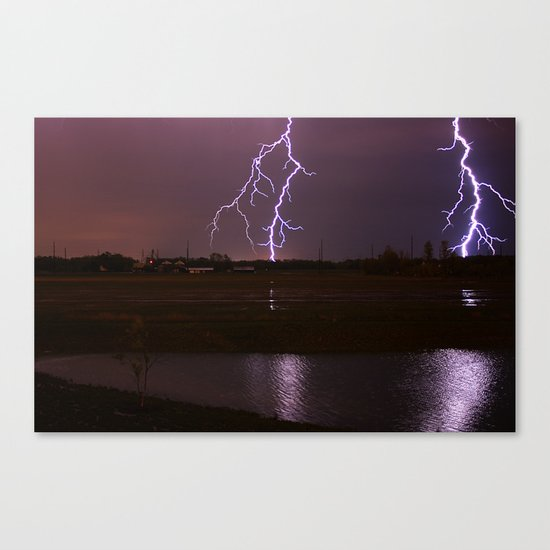 Twin Light Canvas Print