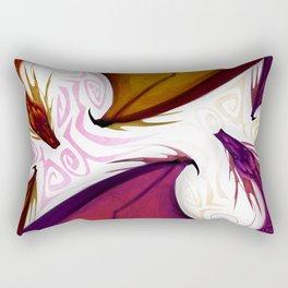 Drgaons dance Rectangular Pillow