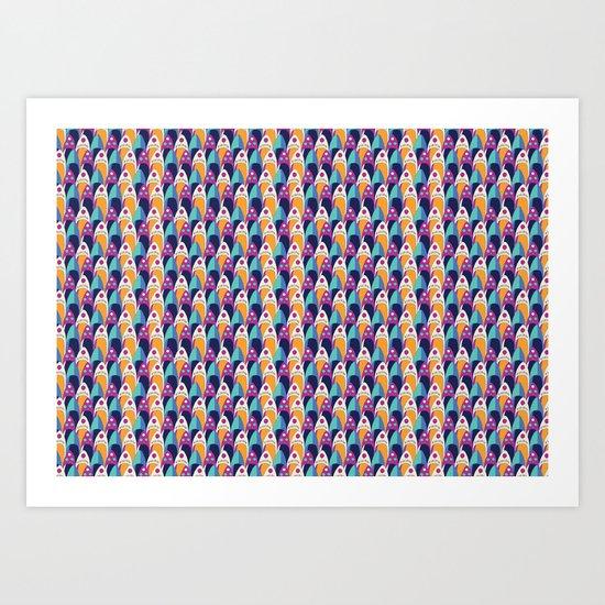 Moroccan Slippers Art Print