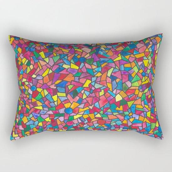Mosaic Rectangular Pillow