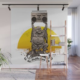 Buddha Funk Wall Mural