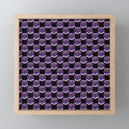 Trippy Cabbage Patch Framed Mini Art Print