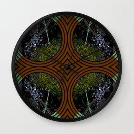 Nature Portals Pattern Wall Clock