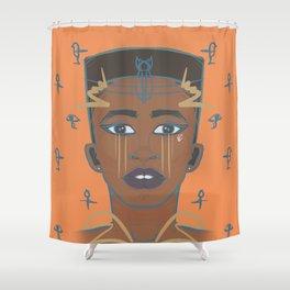 E. Gyptian Shower Curtain