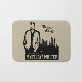Richard Castle, Mystery Writer Bath Mat