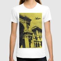 milan T-shirts featuring Milan 3 by Anand Brai