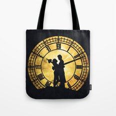 Through Time and Space Tote Bag