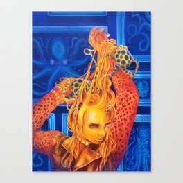 Sucker For Fame Canvas Print