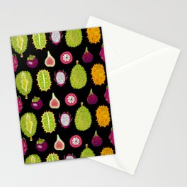 strange fruits Stationery Cards