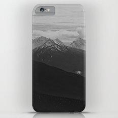 Mountain Landscape Black and White Slim Case iPhone 6s Plus