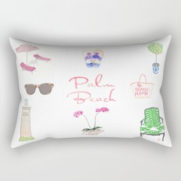 PALM BEACH Rectangular Pillow