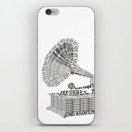 Music just for you iPhone Skin