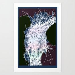 Lumastrands Art Print