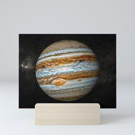 Planet Jupiter Deep Space Probe Telescopic Photograph Mini Art Print