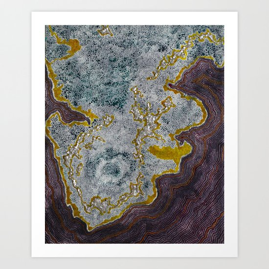 Into The Great Unknown Art Print