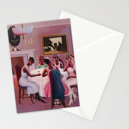 "African-American Classical Masterpiece ""Cocktails"" by Archibald Motley Stationery Cards"