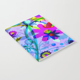 Flowers Fireworks Notebook