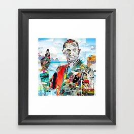 Bond James Framed Art Print